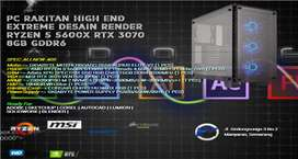 PC RAKITAN RYZEN 5 5600X | RTX 3070 VENTUS | 16GB RAM XPG D50