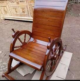 Kursi malas kursi santai bahan kayu jati free ongkir p.Jawa jabodetabe