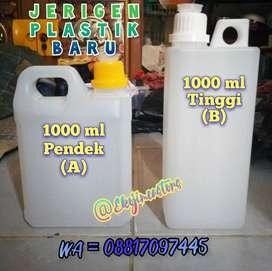 Jerigen 1 Liter Baru untuk madu
