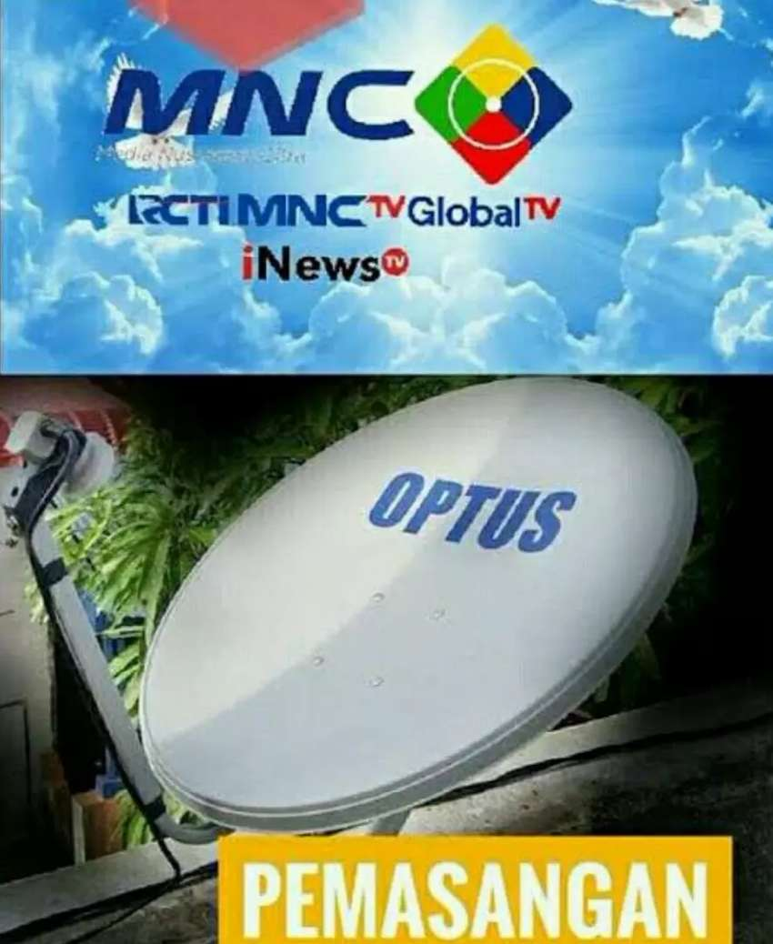 Antena parabola Zaman Now 0