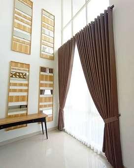 Gorden Vitrase Curtain Blinds Gordyn Korden Decor Interior.158678gji8