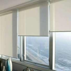 Roller blinds FDE gorden hordeng tangguh elok