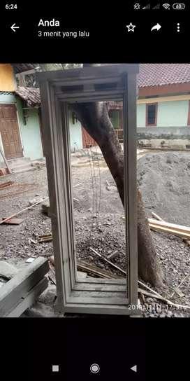 Kusen Pintu Dan Kusen jendela bahan Cor awet anti rayap kuat tahan lam