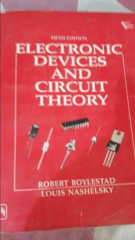 Book electronic devices and circuits theory