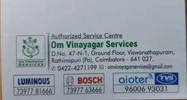 Wanted UPS service engineer for luminous invertors  Asp 7Nos