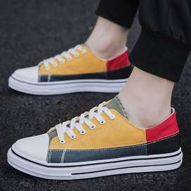 mens shoes casual Denim Male sneaker Slip on Loafers Men Canvas Shoes
