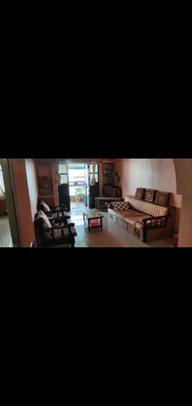 2BHK furnished flat 1 parking for Rent