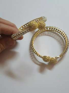 A designer bangle set
