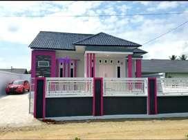 Dijual rumah mewah baru di komplek Bulog daerah kantor serambi korqn