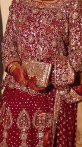 Day 1 Lehnga made by Liberty Lahore (price can be reduced on demand)