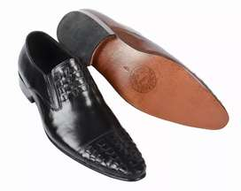 Double Leather sole Hand Made shoes
