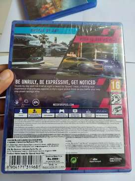 PS4 Nfs Heat ( New , Not opened )