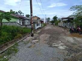 Tanah Kavling  murah Pontianak Jalan komplek  7meter