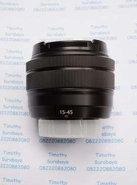 Lensa Fujinon FujiFilm XC 15-45mm f3,5-5,6 OIZ PZ baru copotan garansi