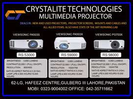 All kind's of New And Used Projector Available.