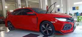 Dijual civic hatchback turbo matic 2018.