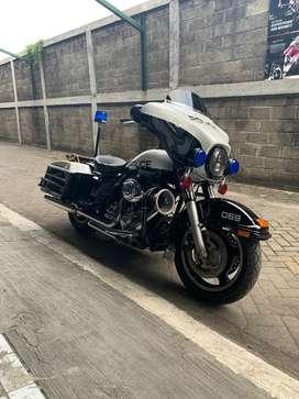 Harley Davidson Electra Police! Istimewa
