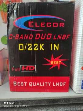 Elecor c-band duo LNBF