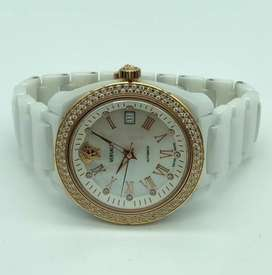 Versace Ceramic Mother of Pearl Dial Diamond