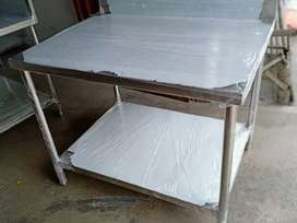Meja stainless steel
