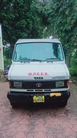 Tata pick-up 407 single handed