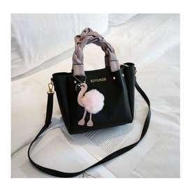 B668-black Tas Handbag Casual Cantik Lucu Terbaru, 650GR