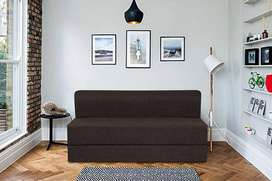 Sofa cum bed with cushion at resonable price