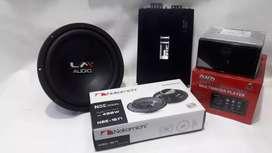 Head unit dhd pull glass mirorlink + 1 paket audio suara SQ