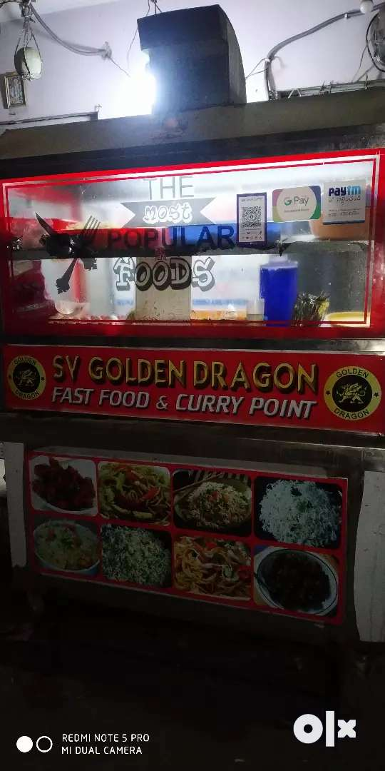 Chinese Fast food Stall 0