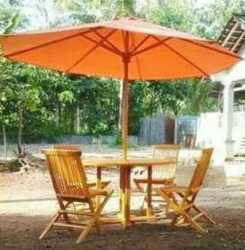 Meja payung taman, pantai, kolam, tempat wisata