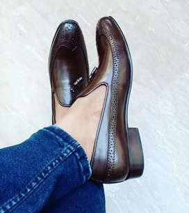 Real Leather shoes h