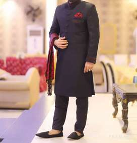 Sherwani worn for only 2 hours