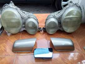 Head Lamp, cover spion Mercy W210