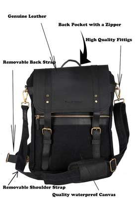 NEW 2in1 Stylish Rich Looking Shoulder and Backpack