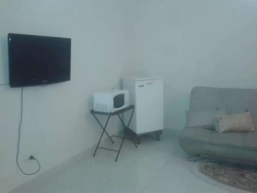 Full furnished independent lower portion 1 bed includ bills in DHA 0
