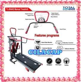 treadmill manual tl 004 6 fungsi murah
