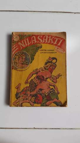 Buku komik wayang Nilasakti