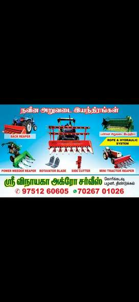 Reaper for all tractors