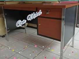 GM MEBEL. Meja 1/2 Biro Kantor Kaki Besi Pekanbaru Pku