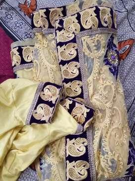 Bridal/party wear saree