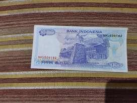 Di jual uang kertas 1.000 rupiah lama