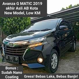 BU! New Avanza G AT 2019 AKHIR Low KM Matic 1.3 Toyota 2020 Jual Cepat