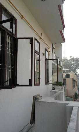 Semi furnished apartment in a safe area near sanjay place.