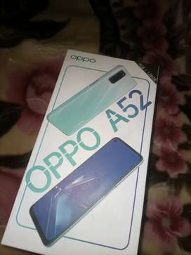 Oppo A52 good condition with charger & box interested people call me