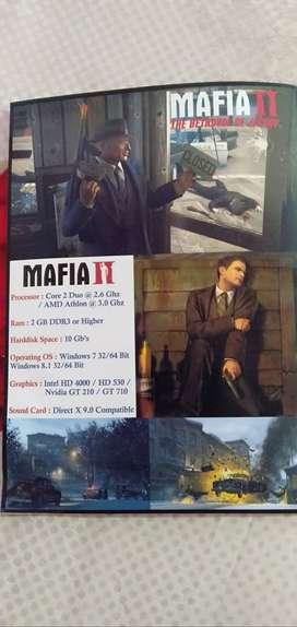 Mafia 2 pc game cd
