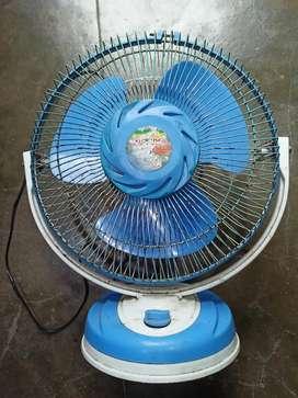 Table Fan Iron & Plastic body