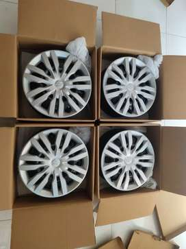 My new wheel rims & wheel cover