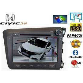 Honda Civic Original DVD Unit/Panel  2005-2015 NON Android