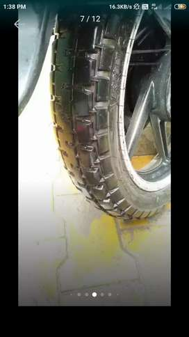 Platina de alloy wheel with tyre agr kise bechne ta mnu dse