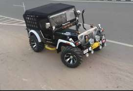 Open Jeep modified available